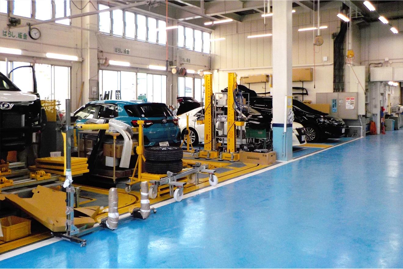 第2工場の設備